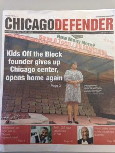 Kids Off The Block Closed and Reopened / Thank you Chicago Defender For Your Support!