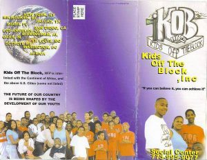 Kids Off The Block's 1st Brochure!