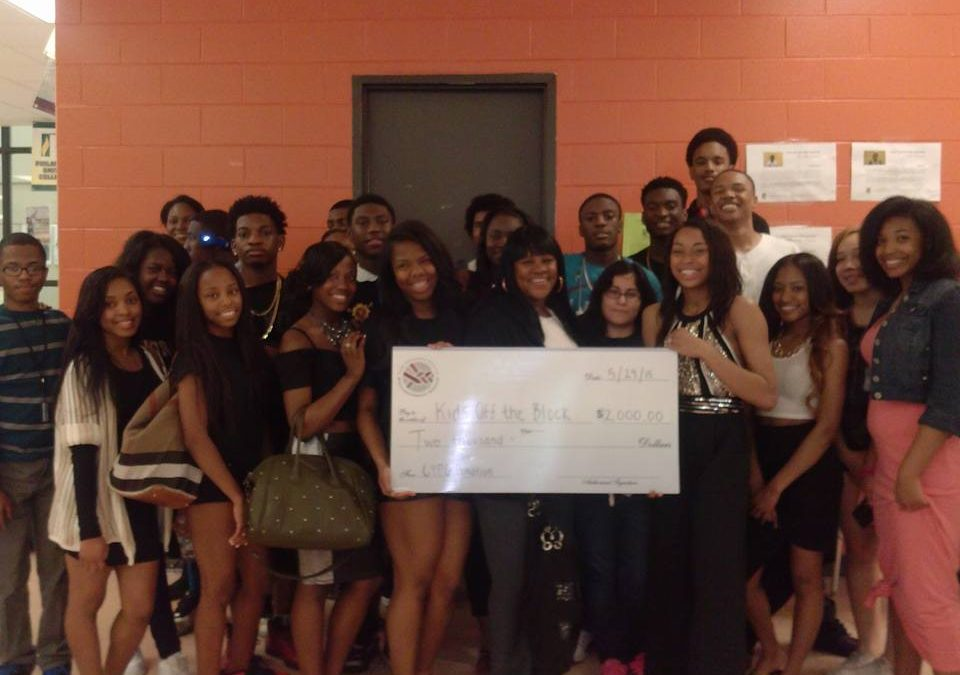 King College Prep Seniors Donate to Kids Off The Block