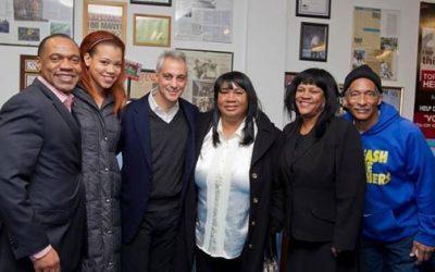 Mayor Rahm Emanuel Visits Kids Off The Block!