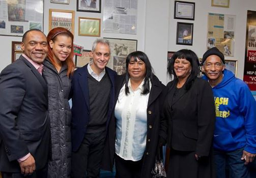 Mayor Rahm Emanuel Visits Kids Off The Block!