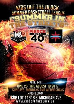 Summer Basketball League Registration Now Open