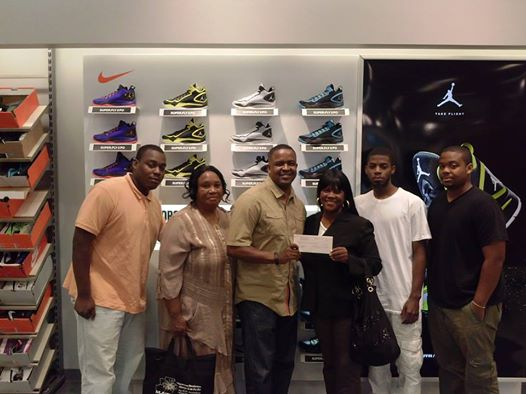 Nike Donates to KOB Computer Lab & Music Studio!
